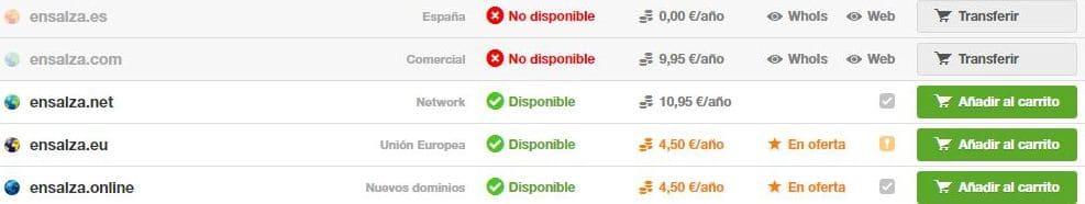 Disponibilidad-dominio-ensalza