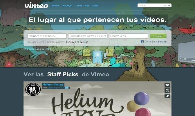 ¿Cómo insertar en tu página un vídeo de Vimeo?