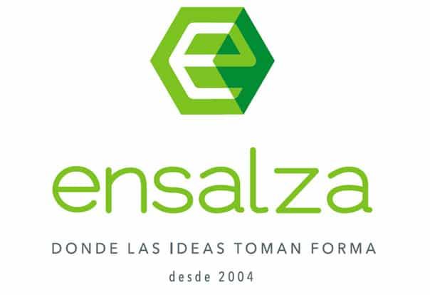 Logotipo Ensalza