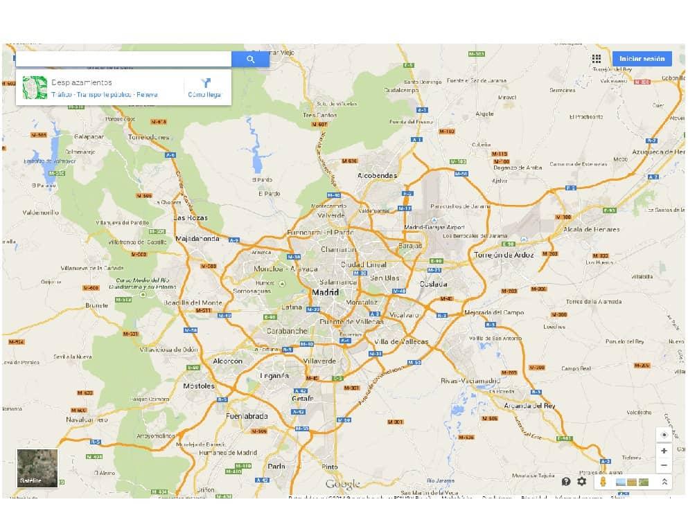 ¿Cómo insertar mapa de Google Maps?