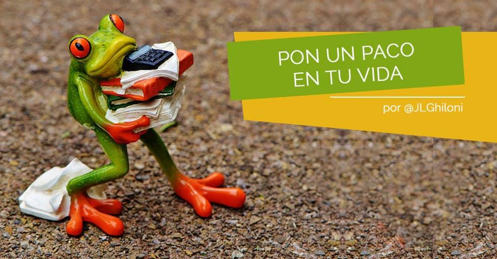 """""""Un Paco pa tó"""" por Jose Luis Ghiloni"""
