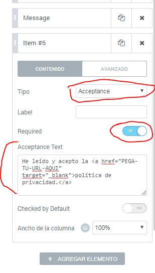 RGPD-Elementor-checkbox-privacidad