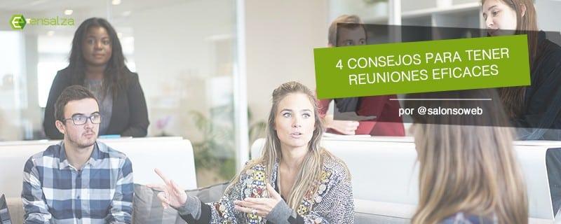 No pierdas el tiempo: 4 normas básicas para tener reuniones eficaces