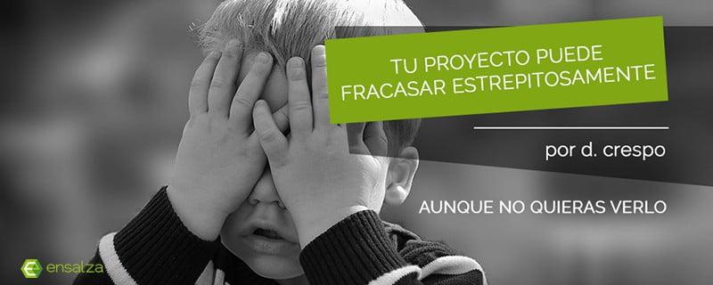 Tu proyecto puede fracasar estrepitosamente