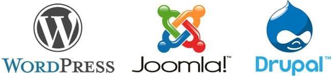 Actualizar web wordpress Drupal Joomla