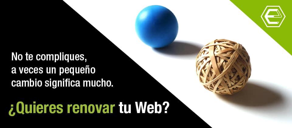 Actualizar web