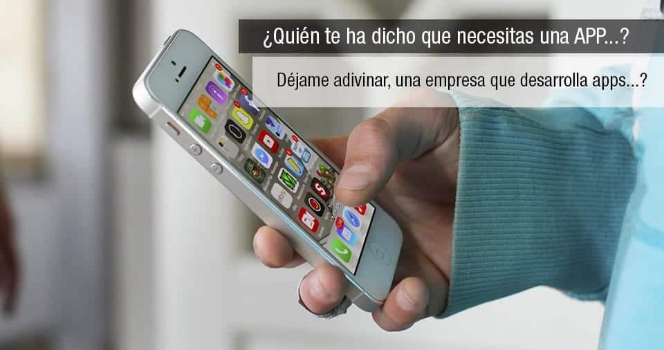 ¿Necesito una aplicación móvil para mi empresa?