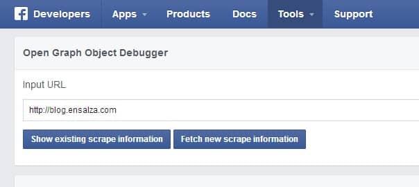 borrar cache de facebook