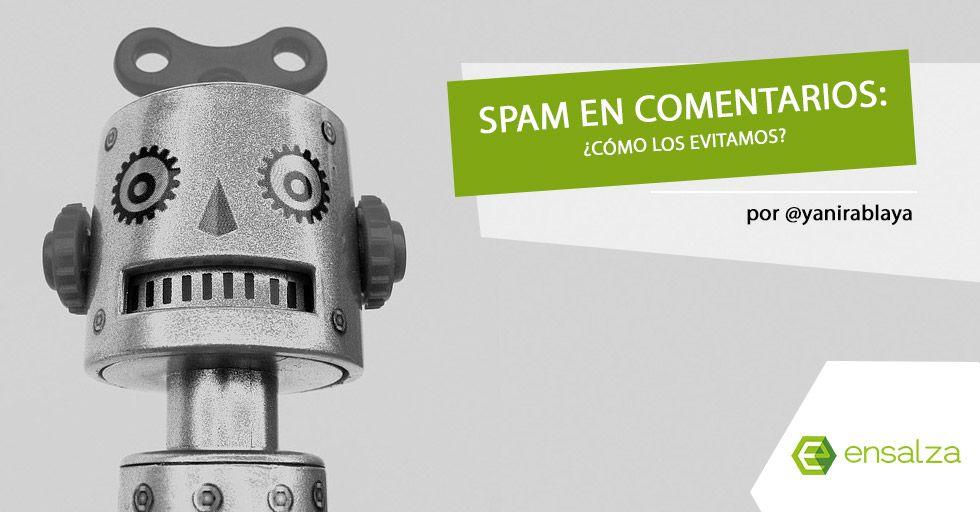 comentarios spam en el blog