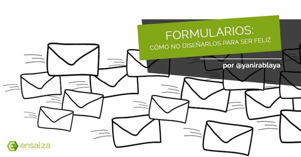 ¿Cómo no diseñar un formulario de contacto?