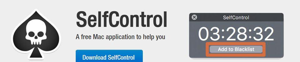 Gestión de tiempo productivo con SelfControl