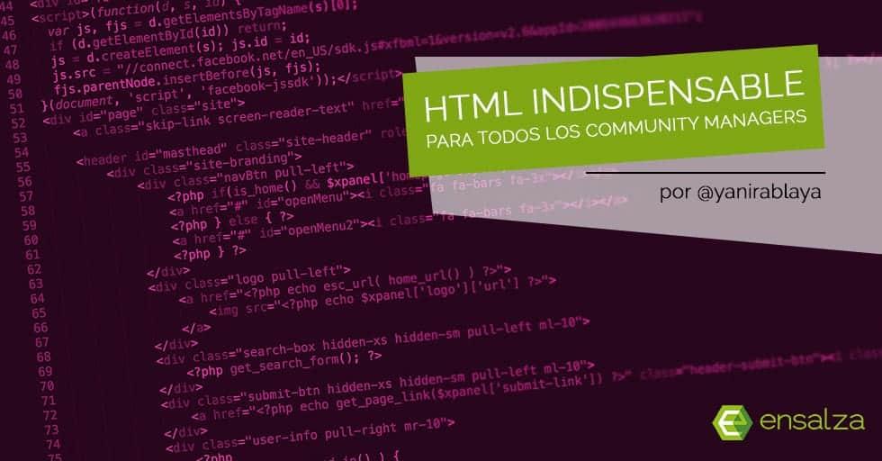Etiquetas y otros trucos HTML indispensables para Community Managers