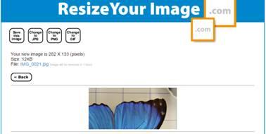 redimensionar fotos