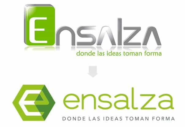 Nuevo Logo de Ensalza