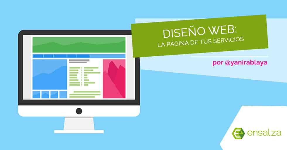 Diseño web: la página de servicios de tu web corporativa