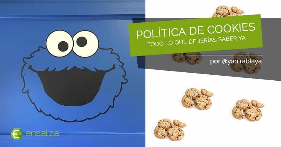 Política de cookies: todo lo que tienes que saber