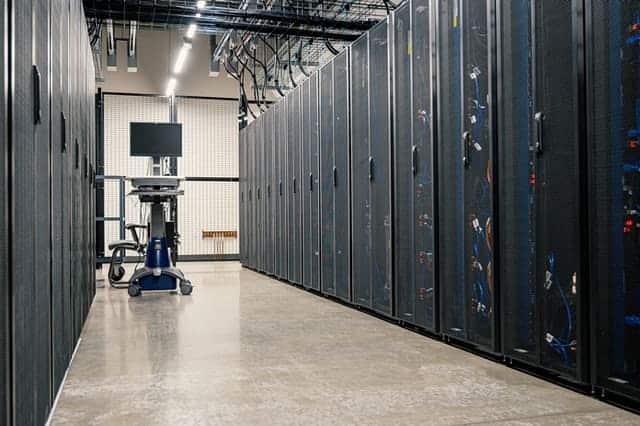 servidores en un data center
