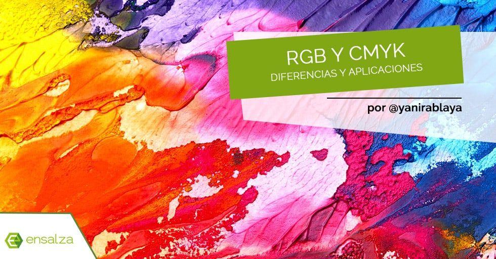 ¿Cuáles son las diferencias entre RGB y CMYK?