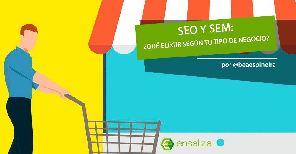 ecommerce - SEO y SEM por Ensalza