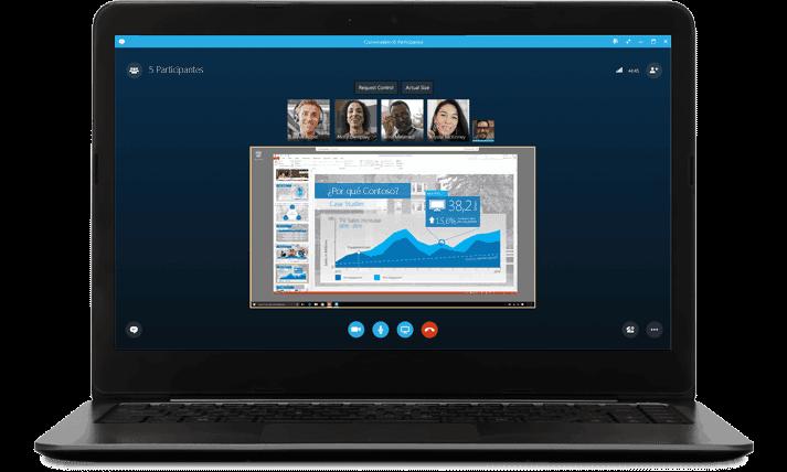 skype reuniones online png