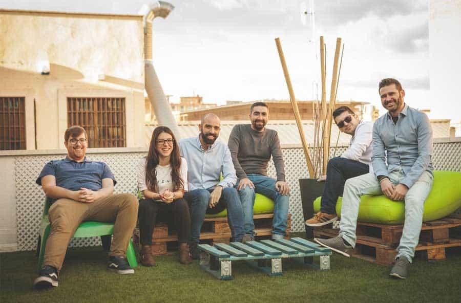 Foto equipo agencia Ensalza en Madrid