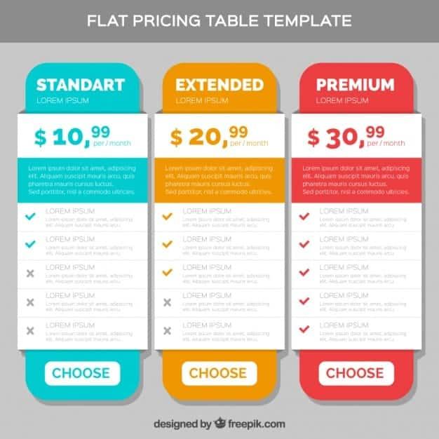 tabla de precios jpg