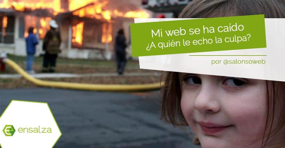 Mi web se ha caído