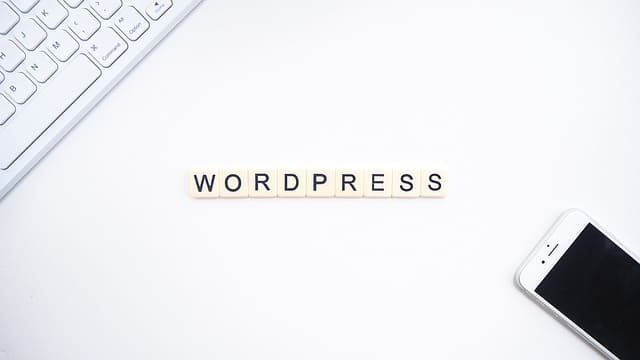 letrero wordpress