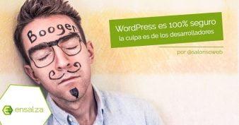 WordPress es más seguro que muchos desarrolladores