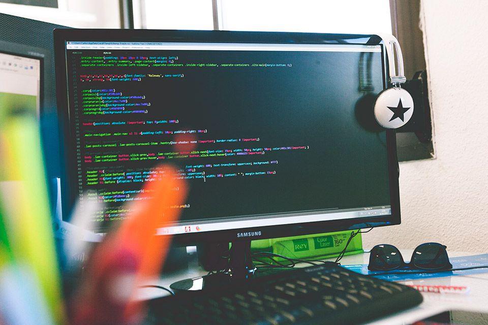 programando una web a medida en Ensalza