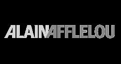 Logotipo gris Alain Afflelou