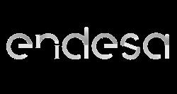 Logotipo gris Endesa