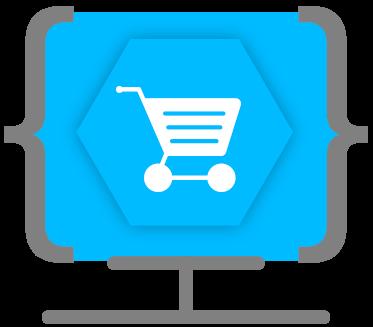 Icono tiendas online Ensalza