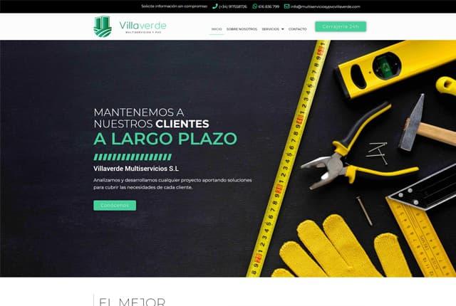 desarrollo web multiservicios villaverde