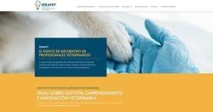 pagina web y landing de ideavet.org