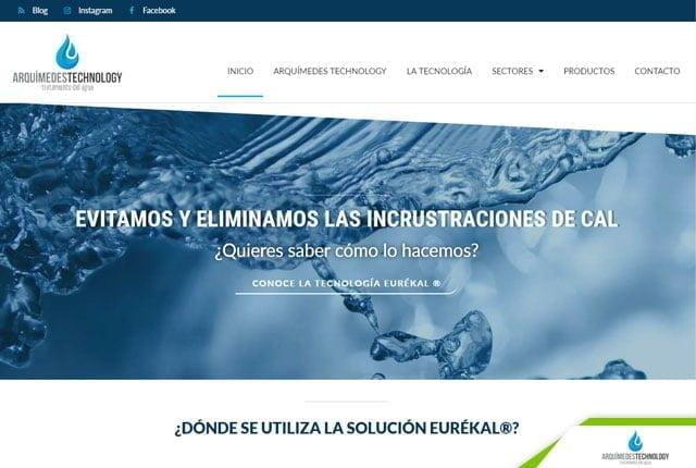 pagina web arquimedes