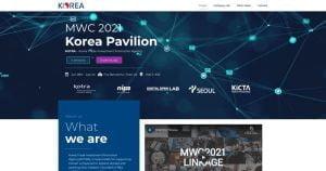 landing page korea mobile world congress