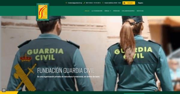 pagina web fundacion guardia civil