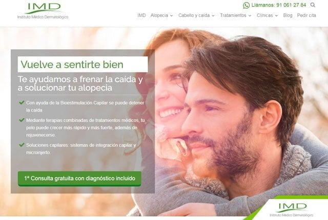 pagina web instituto medico dermatologico