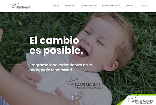 pagina web montessori madrid