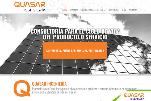 pagina web ingenieria
