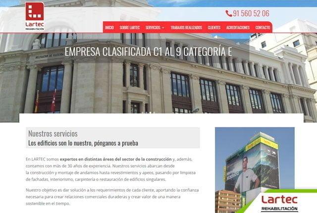 pagina web lartec