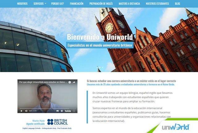 pagina web uniworld