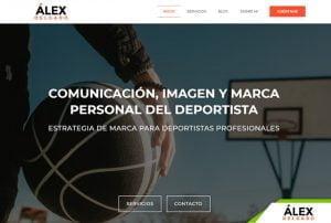 diseño web alex delgado