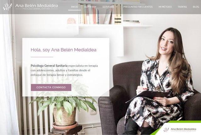 web psicología ana belen
