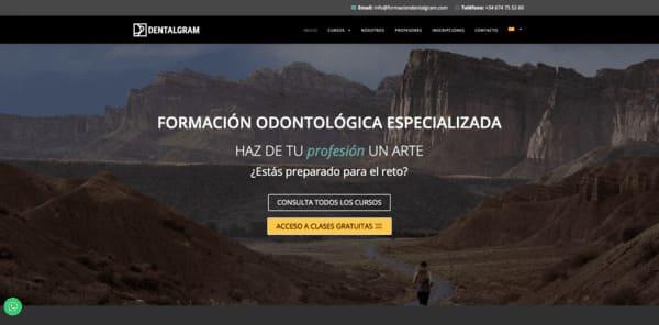 pagina web formacion dentalgram