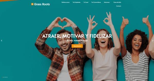 pagina web de grass roots