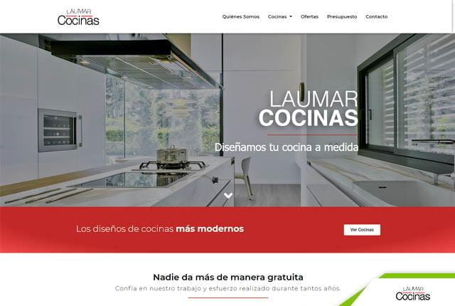 pagina web laumar cocinas