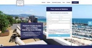 pagina web pisos en badalona