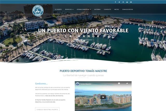web puerto maestre
